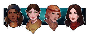 Dragon age girls