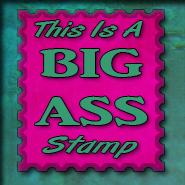 BIG A stamp00 by Me2Smart4U
