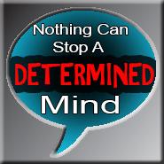 Determined Mind by Me2Smart4U