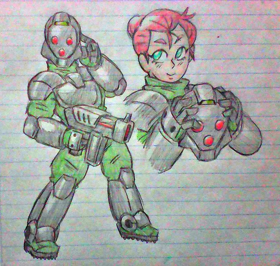 Cutie Commando by Fabaro