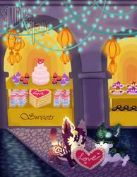 Sweet Theft (Romantic Rendezvous Prompt) by mild-otaku