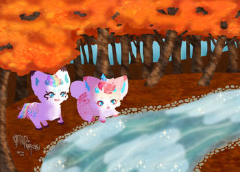 Clouds in the Stream (A Growing Family) by mild-otaku