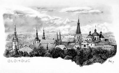 Olomouc - my home town in Czech Republic