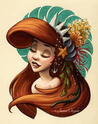 Tribal Princess Ariel by jesschrysler