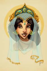Tribal Princess Jasmine by jesschrysler