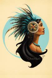 Tribal Princess Pocahontas by jesschrysler