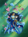 Mariposa, The Butterfly Faerie by jesschrysler