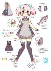 UTAU Concept: Nanami Yano by hanacowo