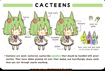 Cacteens: Closed Species by hanacowo