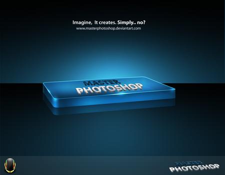 Master Photoshop 3D Logotype