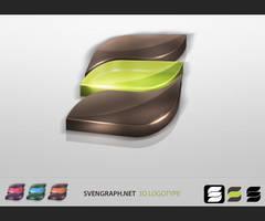SvenGraph 3D Logotype