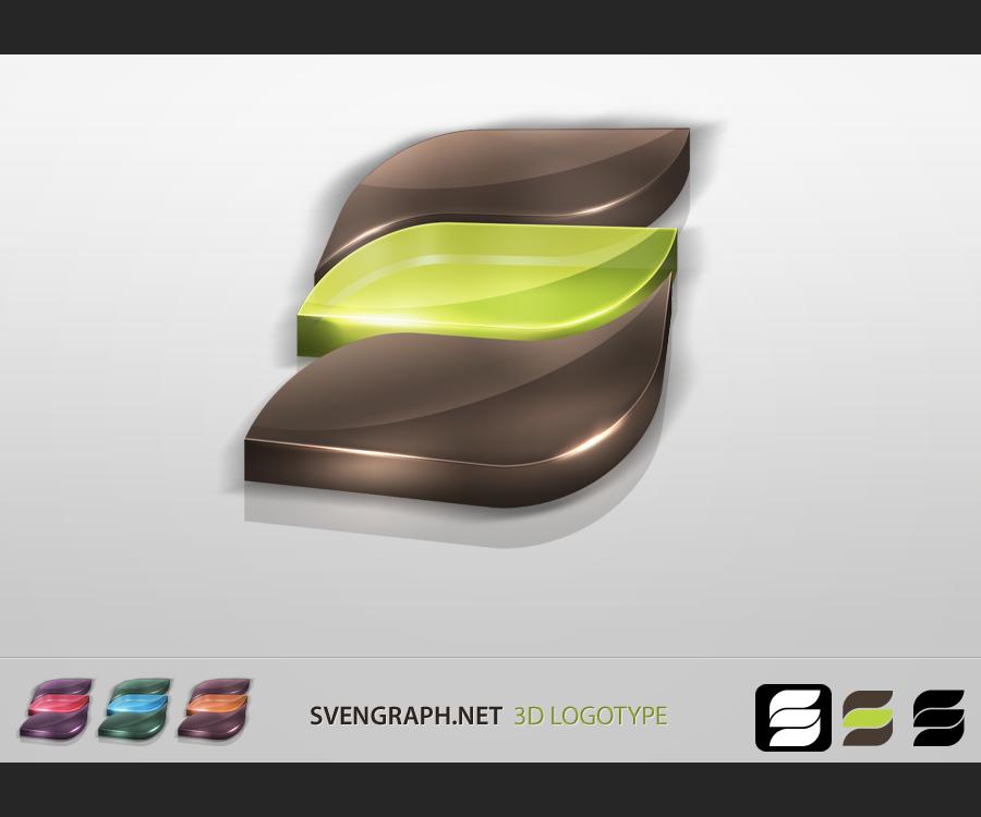 SvenGraph 3D Logotype by Svengraph