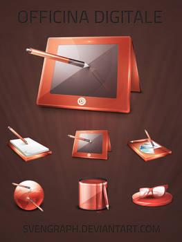 Officina Digitale v3 icons