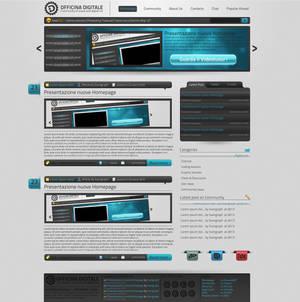 Officina Digitale Homepage