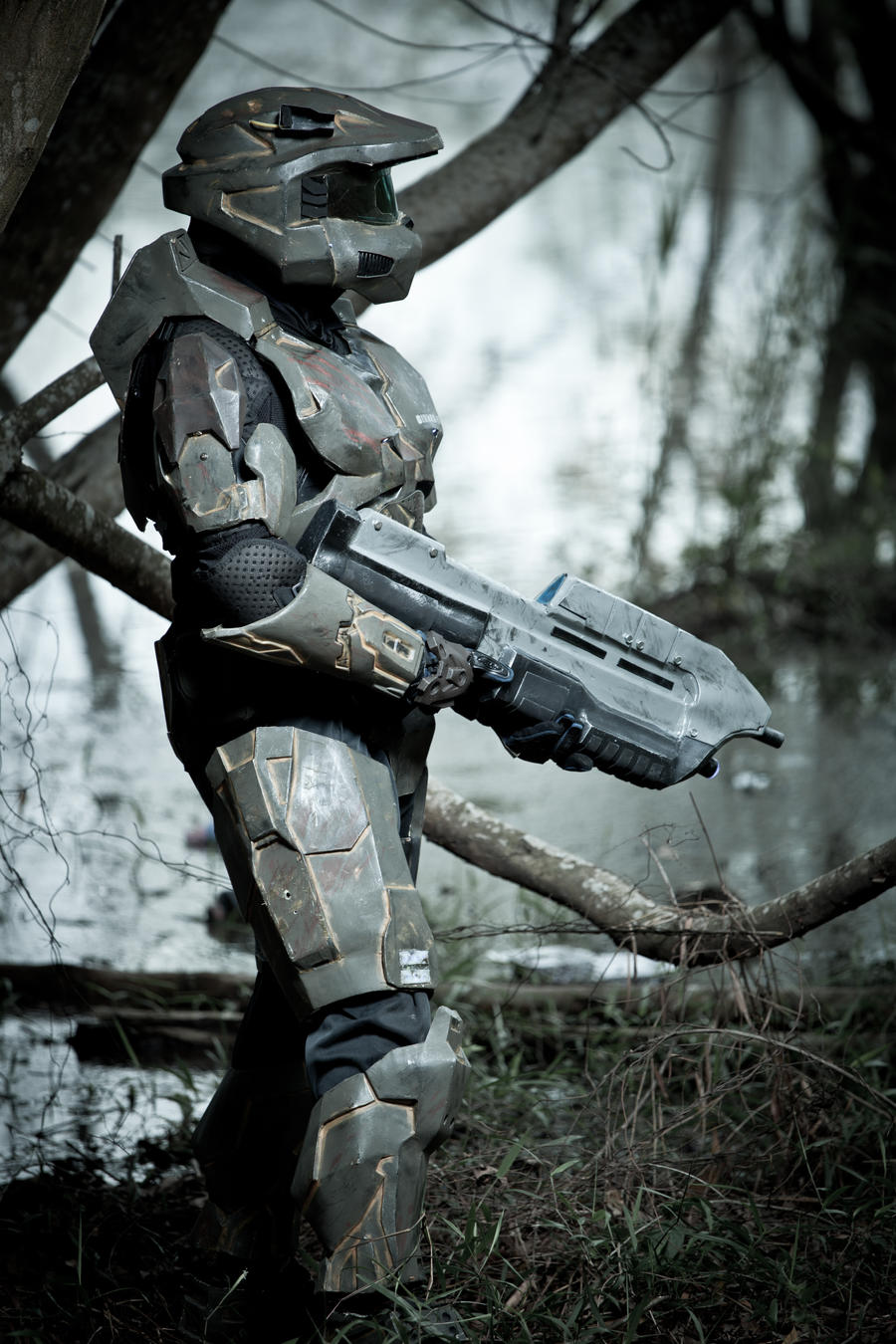 Halo Master Chief by hermanstudio