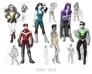 Random DC Characters 2014