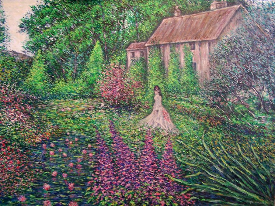 Walk through the garden by landscapist on deviantart - When you walk through the garden ...