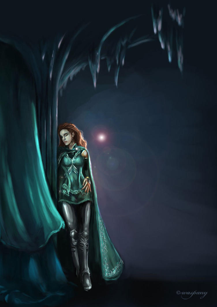 Sigyn in Jotunheim by waspany