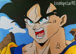 Goku SSJ (Arc Cyborgs) - Dragon Ball Z
