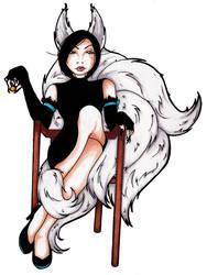 Saya, Queen of Unseelie by jnaepalm