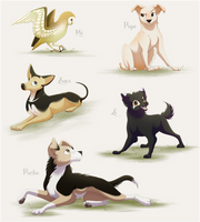 Our Furry Friends by PunkyPants