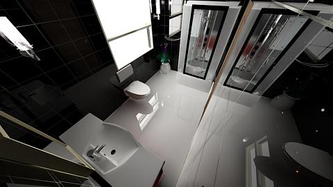 Waterhouse Townhouse design 1 - Second Bathroom by MattShadowwing