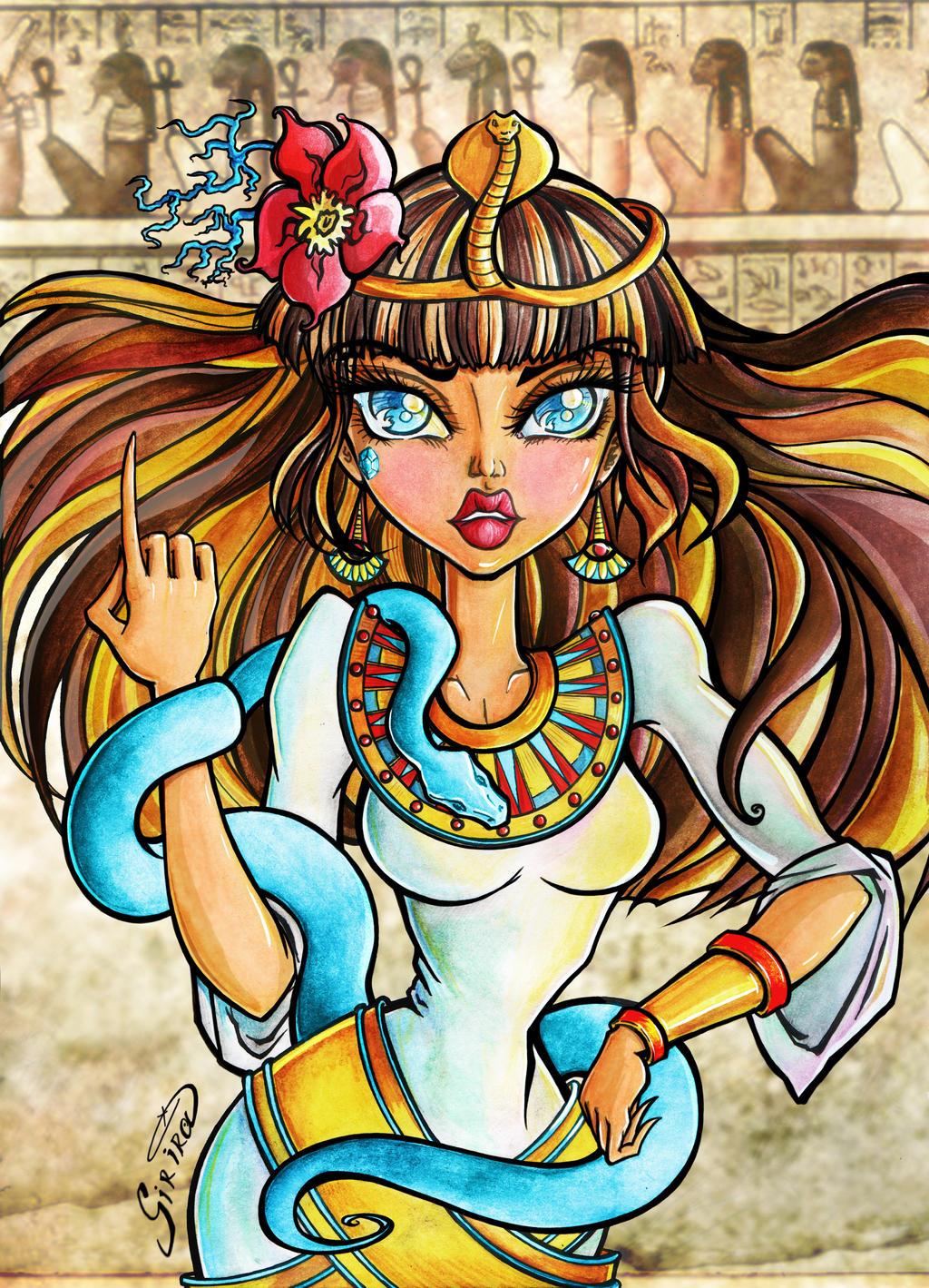 Cleo De Nile By SiriraLiluria On DeviantArt
