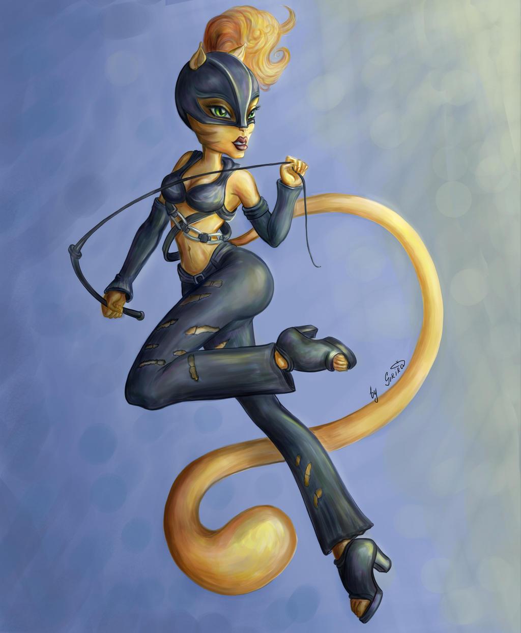 Toralei Stripe - Catwoman by SiriraLiluria