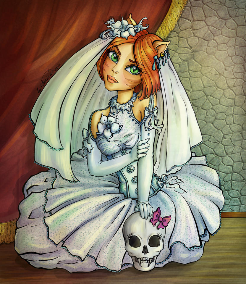 wedding dress for Toralei by SiriraLiluria