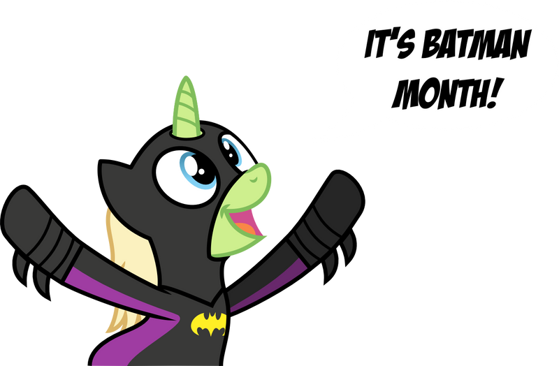 July is Batman Month (According to Sweet Paw) by BatmanBrony