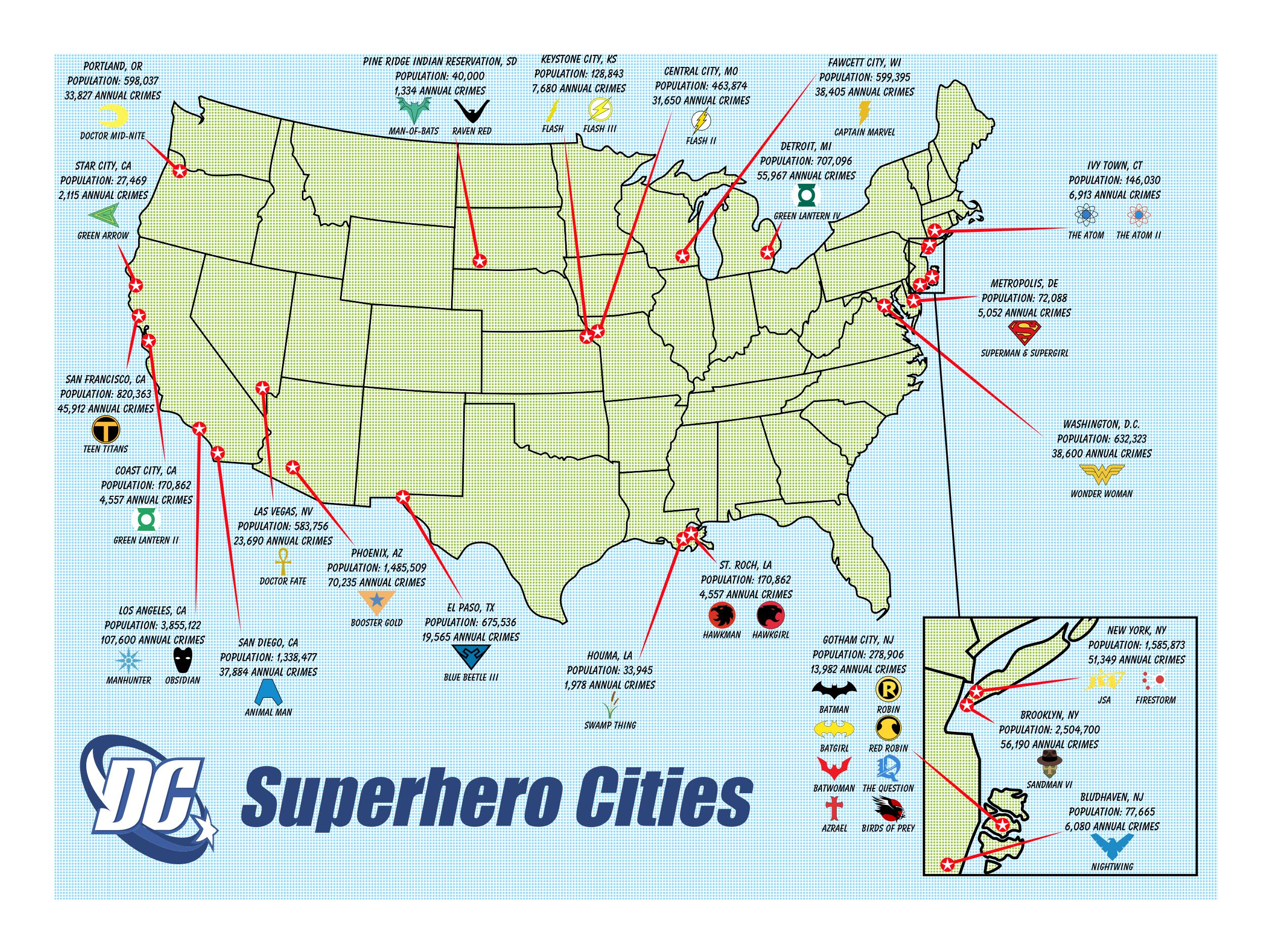 dc superhero cities by batmanbrony on deviantart