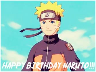 Happy Birthday Naruto Uzumaki by Before-I-Sleep