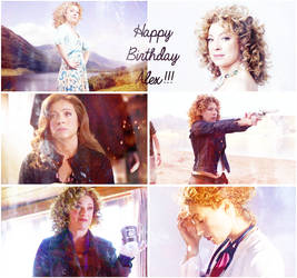 Happy Birthday Alex Kingston!!! by Before-I-Sleep