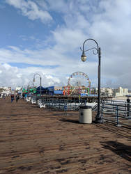 Santa Monica Pier by Before-I-Sleep