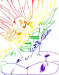 DBZ: Buu Saga: MVegeta Rainbow
