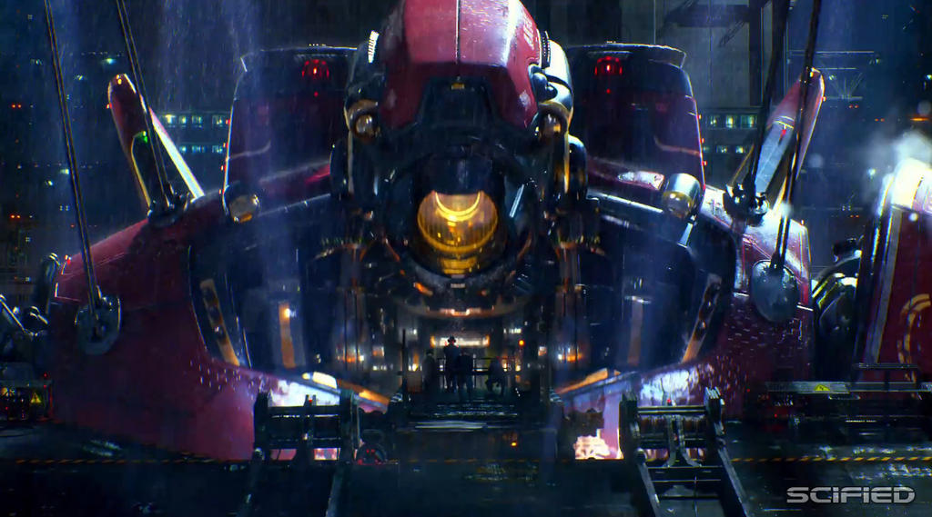 PACIFIC RIM CRIMSON TYPHOON RISING by Brawl2450