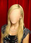 Blonde Girl No Face