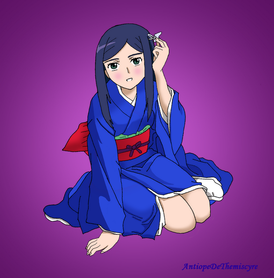 Natsuki kimono by AntiopeDeThemiscyre