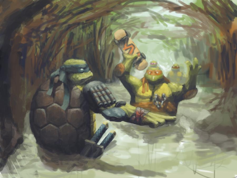 TMNT Swamp mission by DrOwlfarts