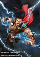 Thor-Ragnarok by CyrilCalmeau
