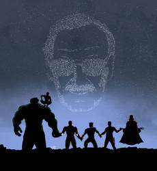 Stan Lee by CyrilCalmeau