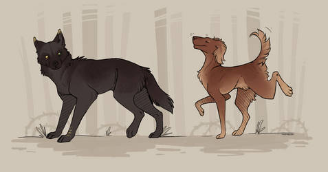 Linos and Connor by TwoTassel