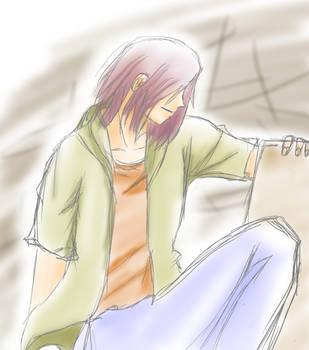 Beelzebub Sketch Natsume by sage-halo