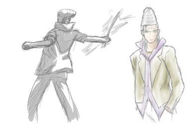 Beelzebub Sketch Himekawa 2 by sage-halo