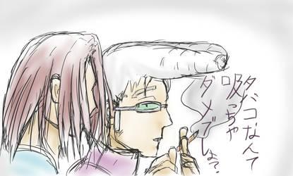 Beelzebub Hime and Natsume by sage-halo