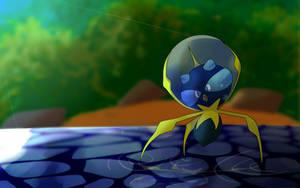 Pokemon- Dewpider by Kierq