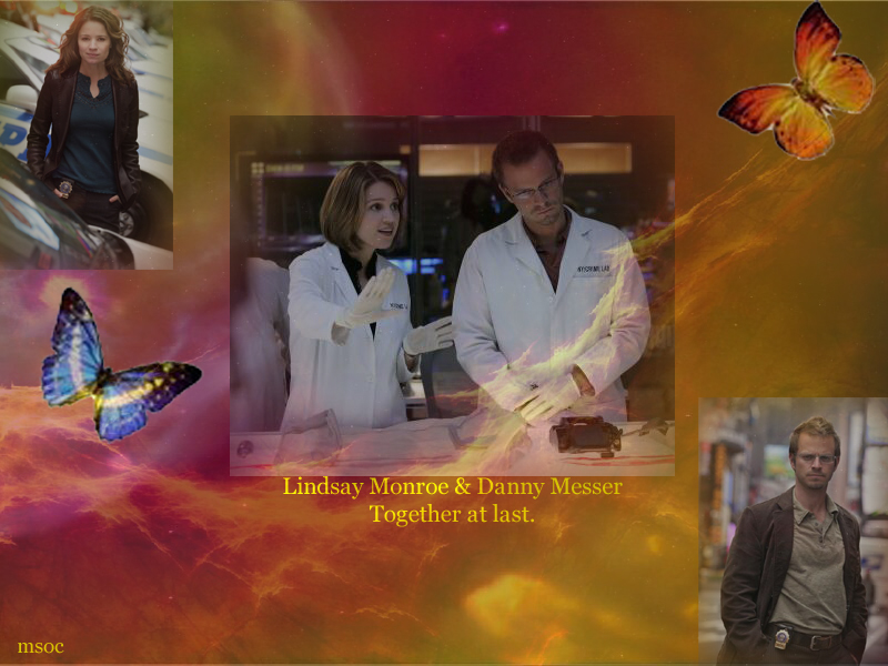 CSI NY: Danny and Lindsay by ScifiNutAlways1999