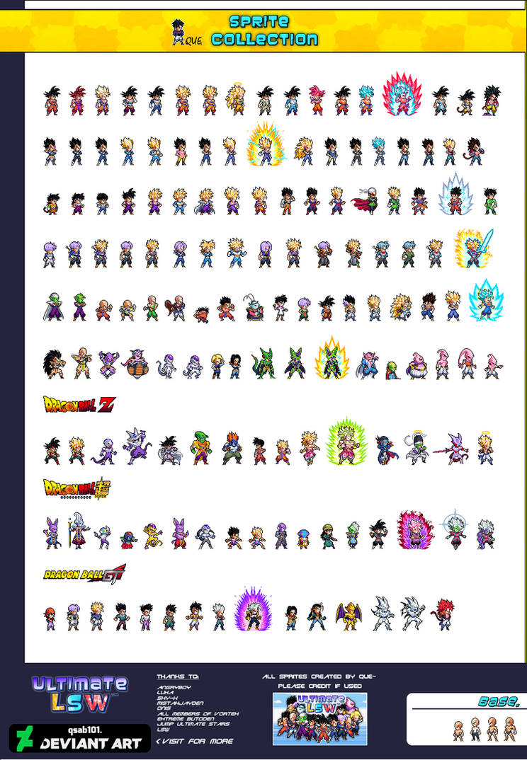 Ultimate Lsw Sprite Collection By Qsab101 On Deviantart