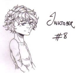 Inktober #8 - elf