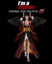 i'm a Fighter Nyotengu Promo Poster by Rhalath